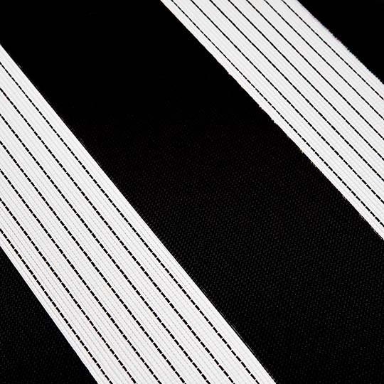 Duo Rollo Doppelrollo 2400 Schwarz mit Streifen