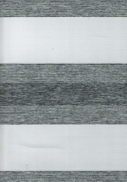 Art. SJE0159-5 Maßanfertigung Doppel Rollo Zebra Dunkelgrau
