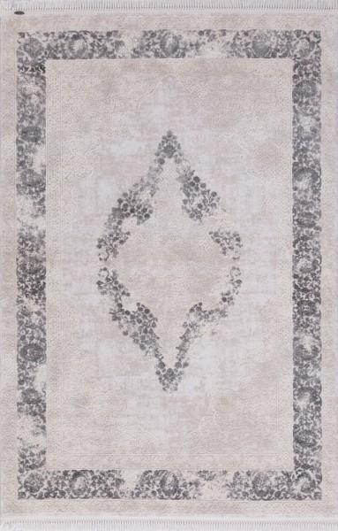 Flora Teppich Aysil Farbe: Grau 1716A