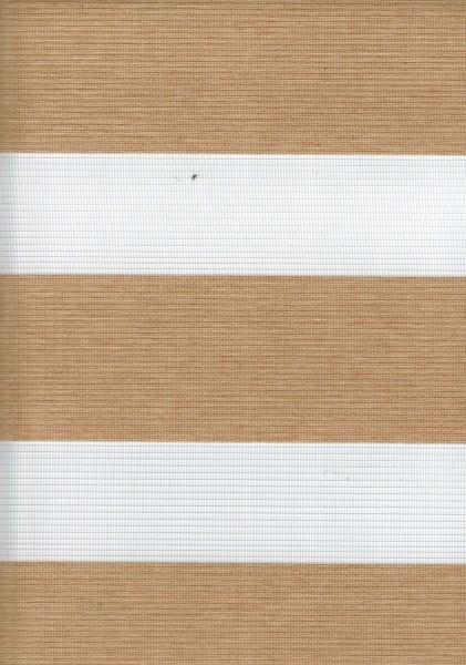Art. 00036-05 Maßanfertigung Doppel Rollo Zebra NEW Hellbraun