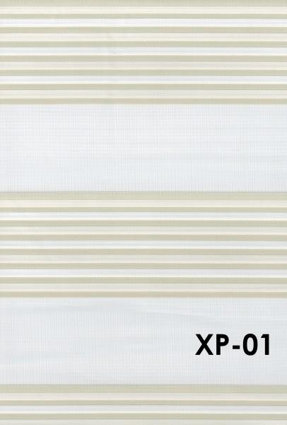Art.: XP Maßanfertigung Duorollo Boncuklu Zebra Perde Doppelrollo Farbe:01