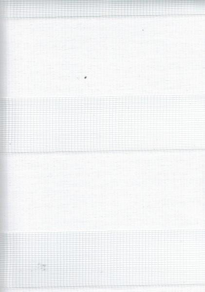 Art. 2127-0101 Maßanfertigung Doppel Rollo Zebra Oregon Weiß
