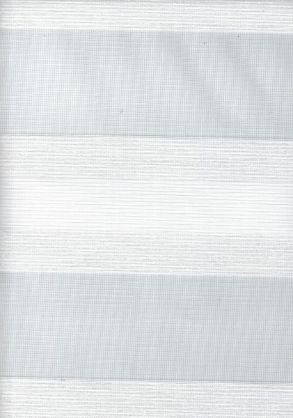 Art. SJE0159-1 Maßanfertigung Doppel Rollo Zebra Weiß